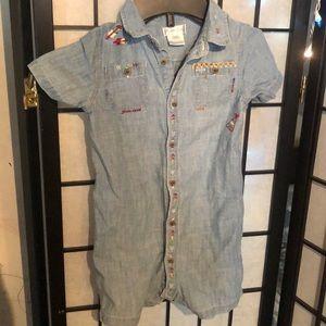 Ralph Lauren onepiece denim outfit size 24months